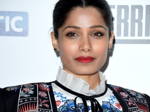 Slumdog Millionaire actress Freida Pinto reduced to tears as audience question lead Asian role in new TV show Guerilla