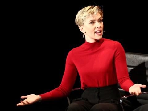 Hillary Clinton and Scarlett Johansson head to Women's Summit as actress blasts 'cowardly' Ivanka Trump