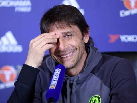 Antonio Conte was asked if any Manchester United players would get in his Chelsea team