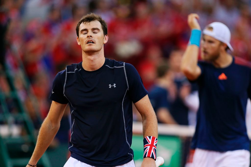 Great Britain crash out of Davis Cup as France reach the semi-finals