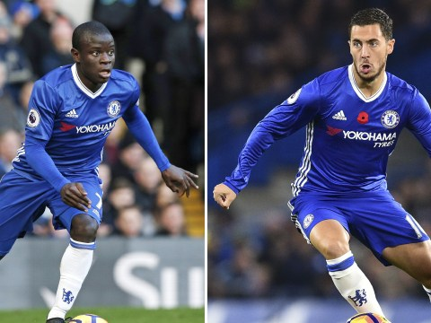Eden Hazard vows to share PFA Player of the Year award with Chelsea team-mate N'Golo Kante