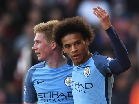 Manchester City's Leroy Sane looking to score against Arsenal again