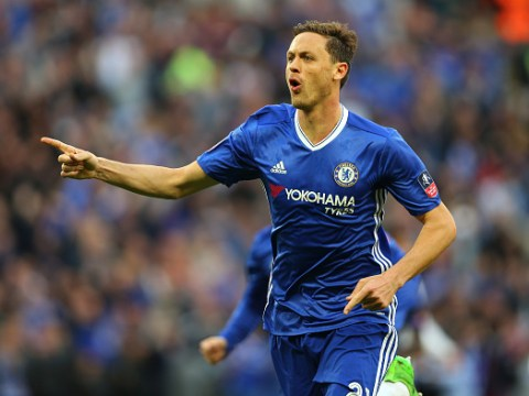 Nemanja Matic knew he had scored a worldy in Chelsea's FA Cup win the moment he struck the ball