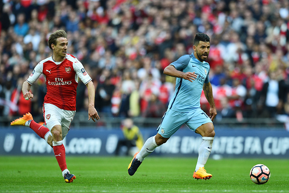 Arsenal defended like under-10s during their FA Cup win over Man City, says Paul Merson