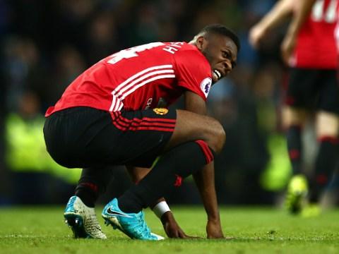 Jose Mourinho says Timothy Fosu-Mensah was seriously injured during Man City 0 Man Utd 0