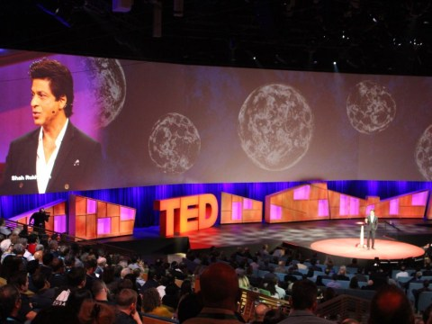 World's biggest movie star gives a TED talk in Vancouver but no one knows who he is