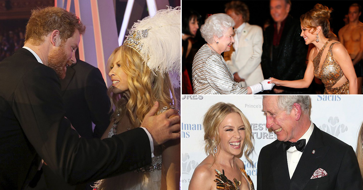 Kylie Minogue and Prince Andrew – the evidence the loyal pop princess has always been a royal favourite