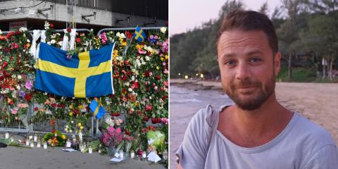 Chris Bevington named as British man killed in Stockholm terror attack