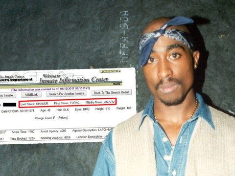 Tupac Shakur was arrested in Los Angeles last month and conspiracy theorists are going wild