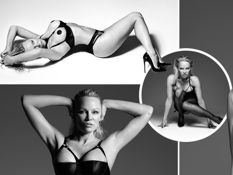 Pamela Anderson admits she feels 'empowered' as she poses for Coco de Mer lingerie shoot