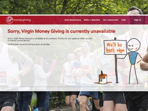 Virgin's online donation website crashes the night before London Marathon
