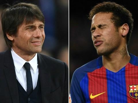 Chelsea boss Antonio Conte tells Roman Abramovich he wants Alexis Sanchez or Romelu Lukaku over Neymar