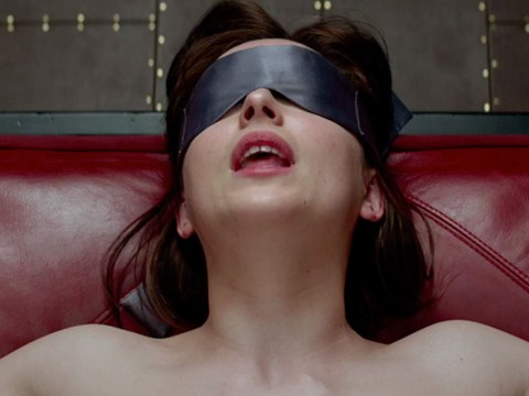 Dakota Johnson had to glue a thong to her nether regions for Fifty Shades filming
