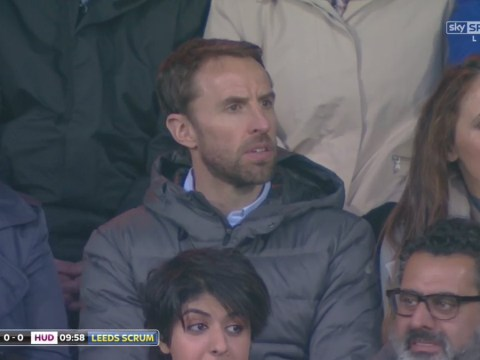 Gareth Southgate spotted at Super League rugby game instead of watching Manchester City host Manchester United