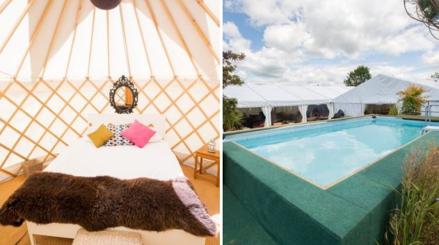 You can now rent a luxury hotel tent at Glastonbury for £13,000