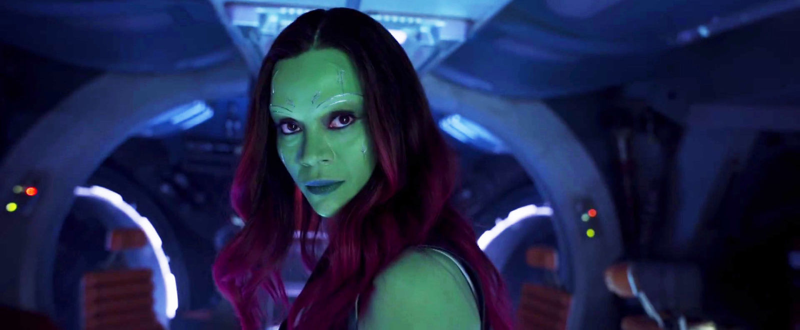 Zoe Saldana, star of Guardians Of The Galaxy, has no clue what MCU stands for