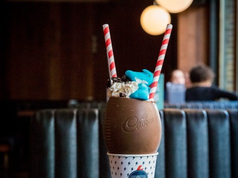 You can now get milkshakes served in Easter Eggs (but only on Good Friday)