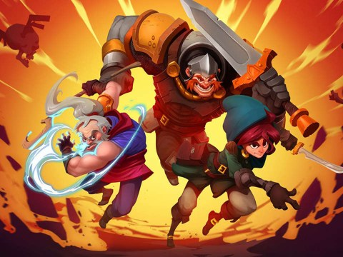 Has-Been Heroes review – like a rogue