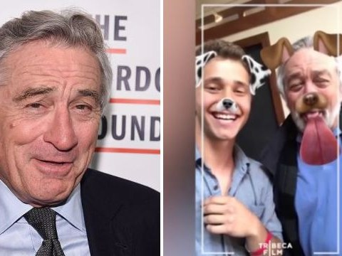 Robert De Niro uses Snapchat for the first time and makes a really cute dog