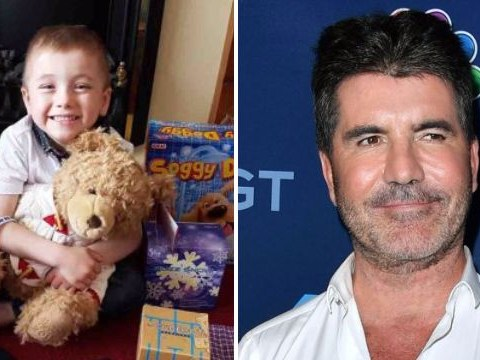 Simon Cowell sends a bunch of presents to five-year-old child after paying for his cancer care in the US