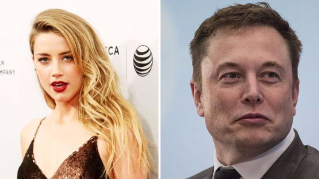 Amber Heard appears to confirm romance with Tesla billionaire Elon Musk in saucy date night photo