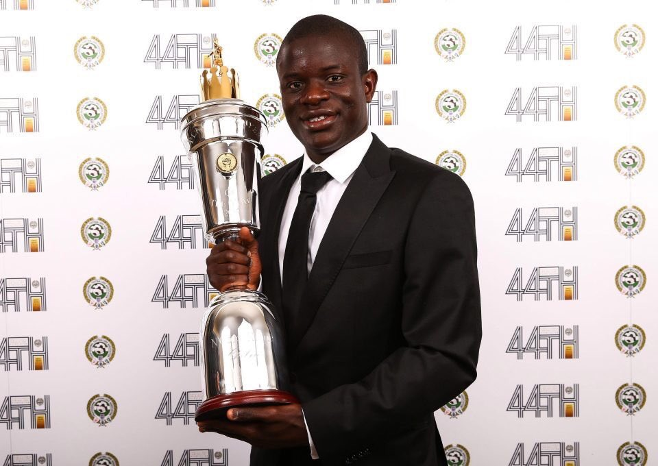 N'Golo Kante pays tribute to Chelsea fans and his team-mates after winning PFA Player of the Year award