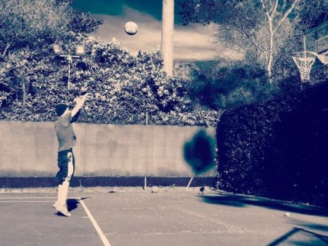 Liam Payne takes a break from daddy duties to shoot some hoops but keeps fans waiting for new music