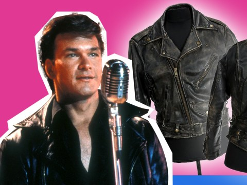Patrick Swayze's Dirty Dancing leather jacket sells for 900% more than auction price