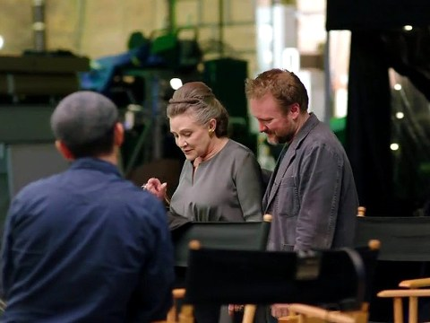 First look at Carrie Fisher in The Last Jedi revealed at A Star Wars Celebration