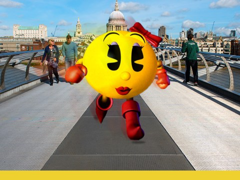 How you can play Ms Pac-Man on Google Maps