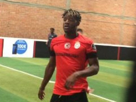 Chelsea striker Michy Batshuayi finally gets a game… but in a Galatasaray shirt