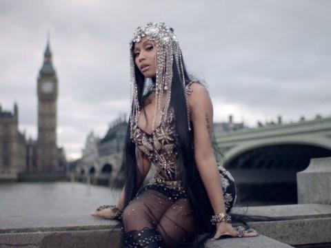 Nicki Minaj 'honoured' to include scenes shot on Westminster Bridge in No Frauds video
