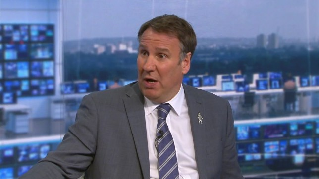 Paul Merson believes Chelsea will win at Goodison Park on Sunday (Picture: Sky Sports)