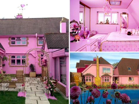This has to be the pinkest house on Airbnb