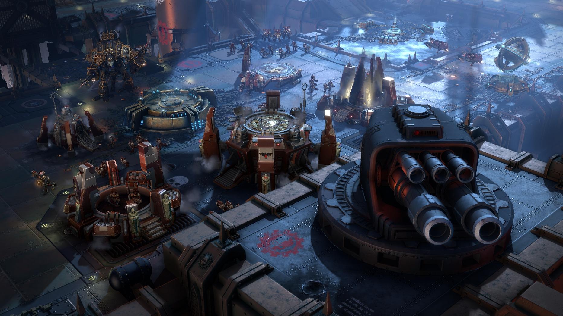 Warhammer 40,000: Dawn Of War III (PC) - Space Marines do love their big guns