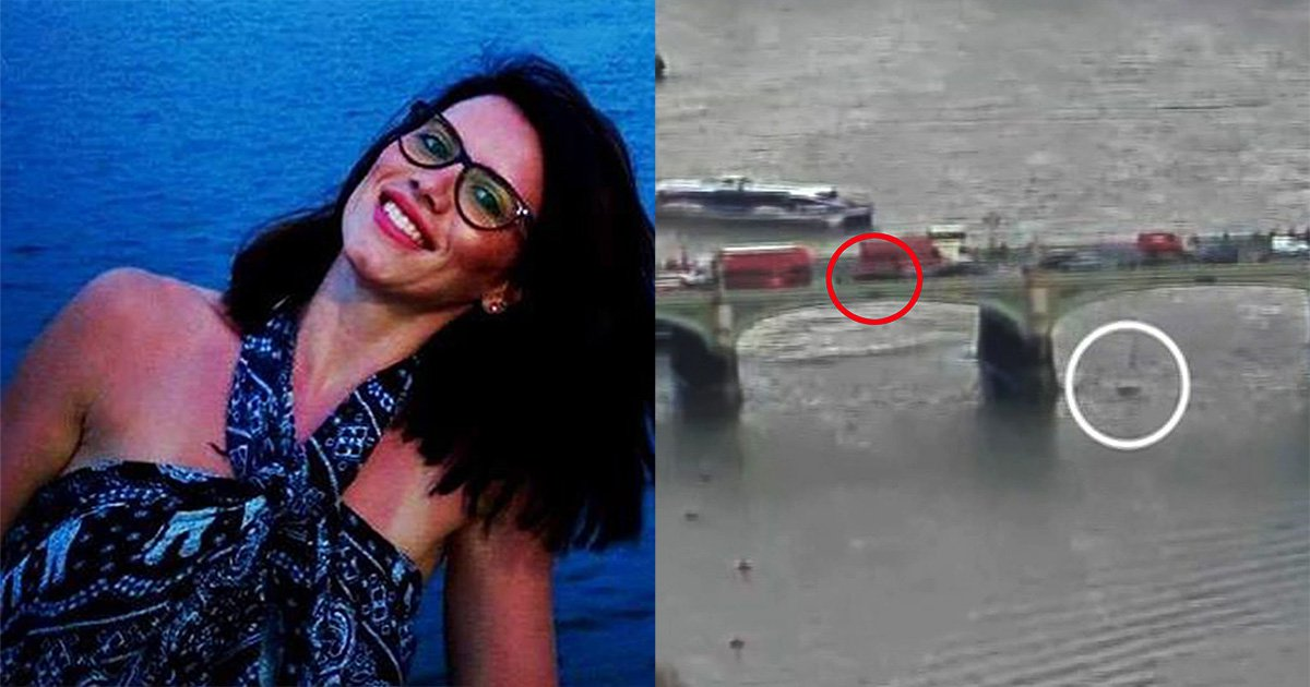 Woman who plunged into Thames during Westminster attack has died