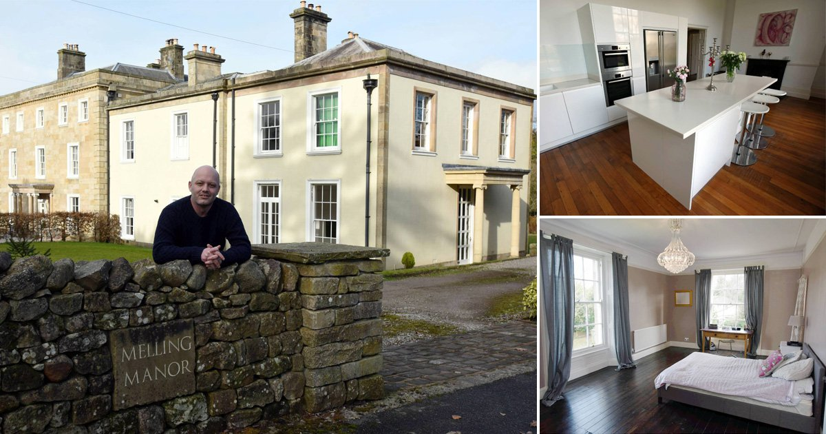 Man is raffling off his £845,000 mansion for just £2