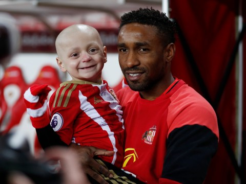 Jermaine Defoe gets emotional about his 'instant bond' with terminally ill young fan: 'He's fighting every day'