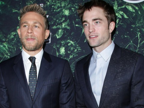 Robert Pattinson denies being a douche and claims he thought Charlie Hunnam was ignoring HIM