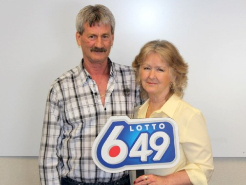Amazingly lucky couple win lottery for third time