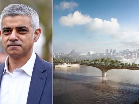 It looks like London won't be getting a Garden Bridge after all