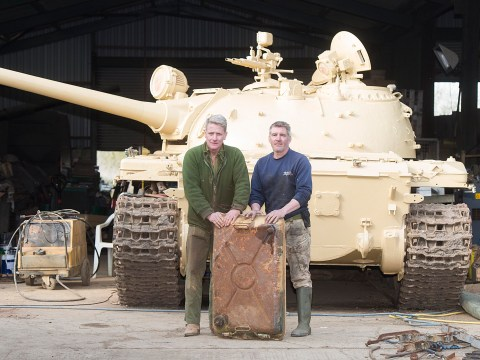 Man finds £2 million of gold in tank he bought for £30,000