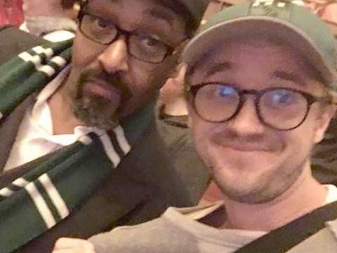 Harry Potter actor Tom Felton is still Team Slytherin all the way