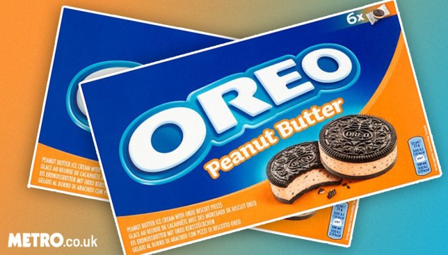 peanut butter ice cream oreos (Picture: Tesco/ metro.co.uk)
