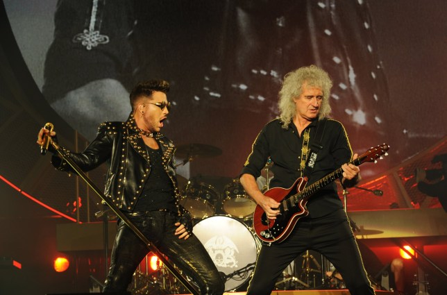 Queen and Adam Lambert are touring the UK and Ireland for the first time in three year (Picture: Neal Preston)