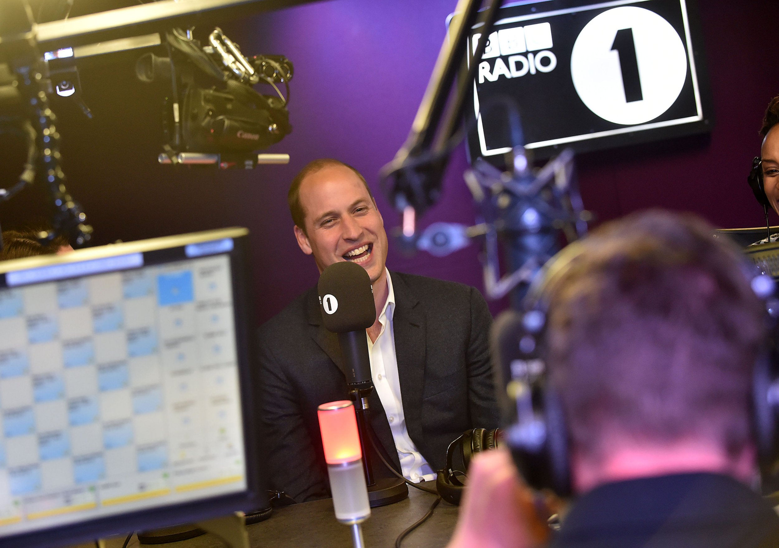 Prince William jokes about his 'dad-dancing' at Swiss nightclub during Radio 1 chat about going to gigs
