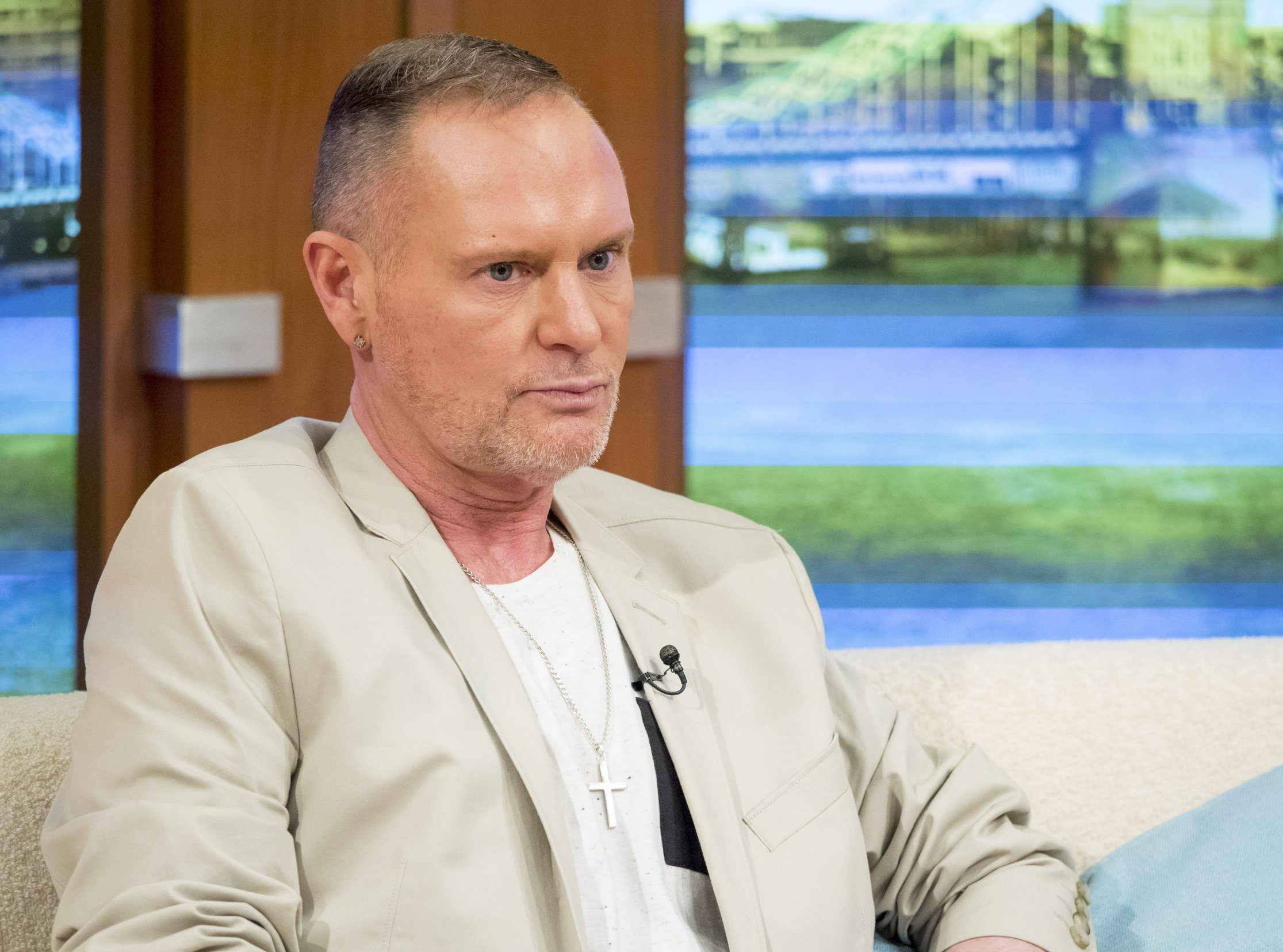Paul Gascoigne confronted burglars trying to rob neighbour's home
