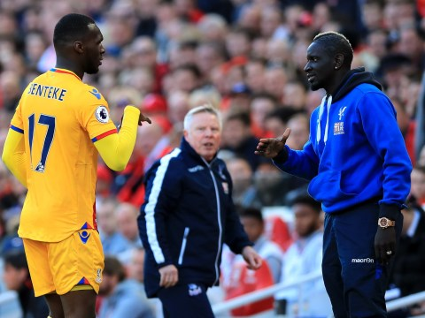 Mamadou Sakho defends his celebration with Christian Benteke during Liverpool 1 Crystal Palace 2