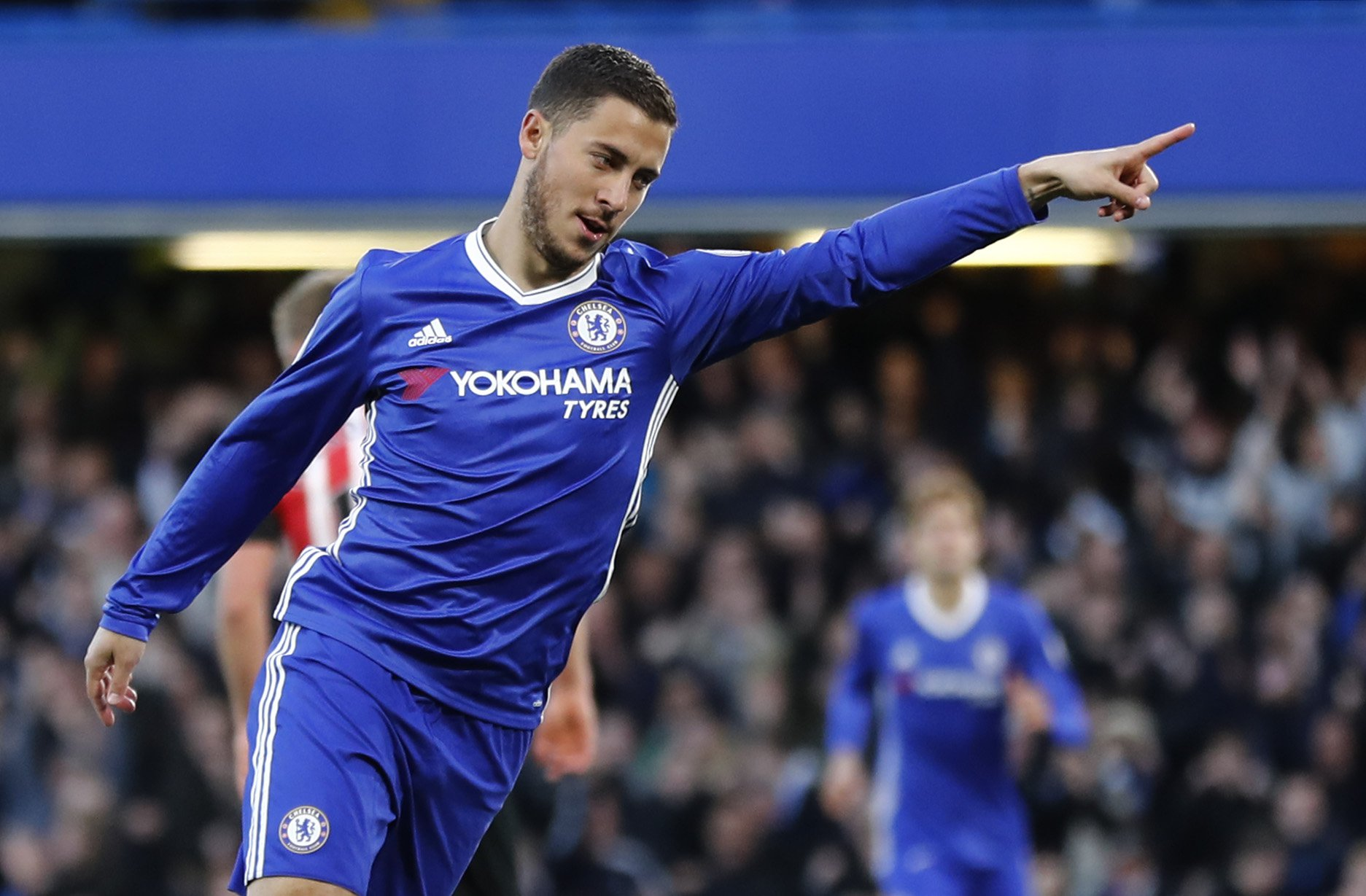 Eden Hazard sets personal record with strike during Chelsea 4 Southampton 2