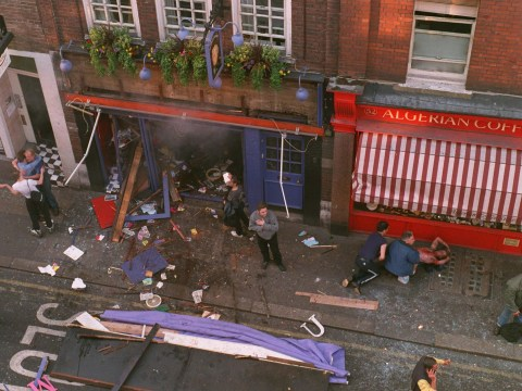 Deadly nail bomb attack at Admiral Duncan in Soho remembered 18 years on